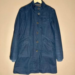 Marc By Marc Jacobs navy coat